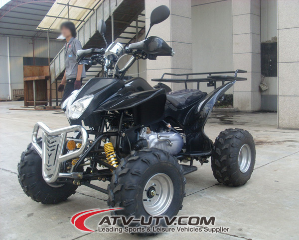 Big power ATV 150 4X4 long version with EEC approval and COC legal on road.