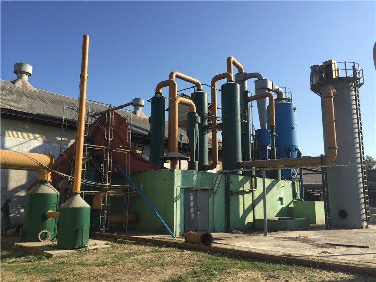 800kw rice husk gasification power plant,biomass fluidized bed gasifier waste to energy equipment in Maymar