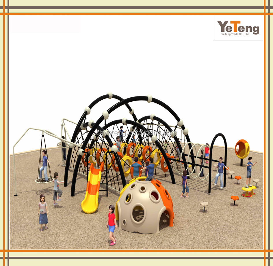 Kids outdoor best discount rope climbing playground equipment