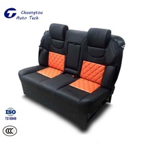 CTZY028 Auto Double Seat Adjustable Leather Luxurious Back Row Power Seat With Massager