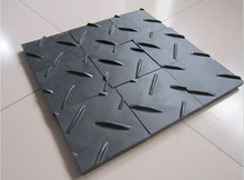 Temporary Heavy Equipment PE/HDPE Sheet for Road Mats