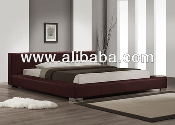 Nues PU Leather Bed