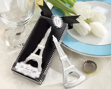 Wholesale Custom Metal With Packing Box Eiffel Tower Bottle Opener