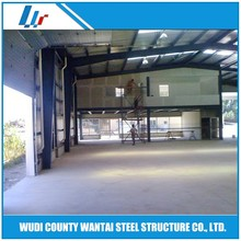 Light steel structure large span prefabricated warehouse