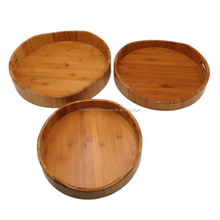 kitchen bamboo disposable fruit serving tray