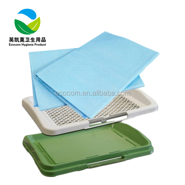 Nonwoven urine absorbent disposable dog potty pee pad