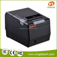 80mm pos receipt printer support flash color light alarm directly thermal printer