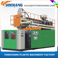 hdpe bottle blow moulding machine