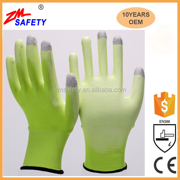 China Wholesale Polyester Touch Screen Gloves