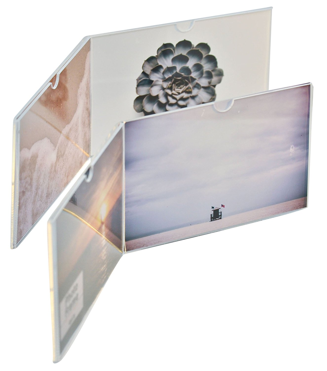 4x6'' Customized clear acrylic picture frame acrylic photo frame