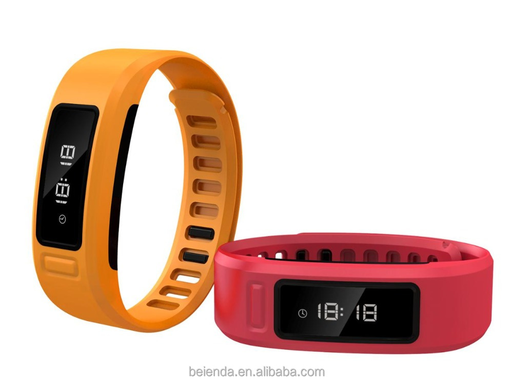 Fitness Tracker Watch Bluetooth 4.0 OLED Touch Screen