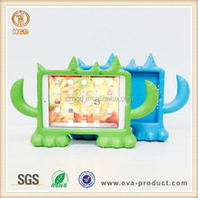 Monster design EVA foam child protective tablet cases with various colors