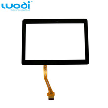 Front glass digitizer for Samsung Galaxy Note 10.1 N8000 N8010 N8013 for replacement