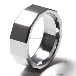 10mm men's facets tungsten ring popular tungsten carbide rings