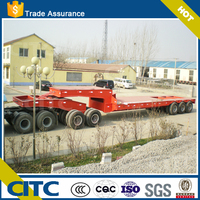 tri-axles low bed dolly semitrailers for sale