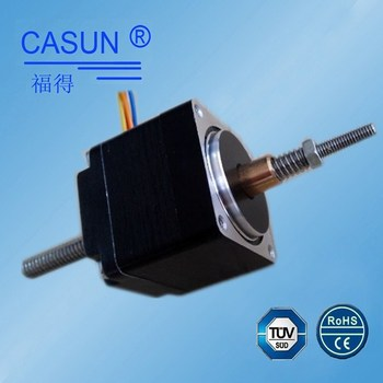 Small size 28mm lead screw non captive linear stepper for Miniature stepper motors with linear actuation
