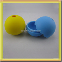 round ball shape silicone ice mold tray for drinks