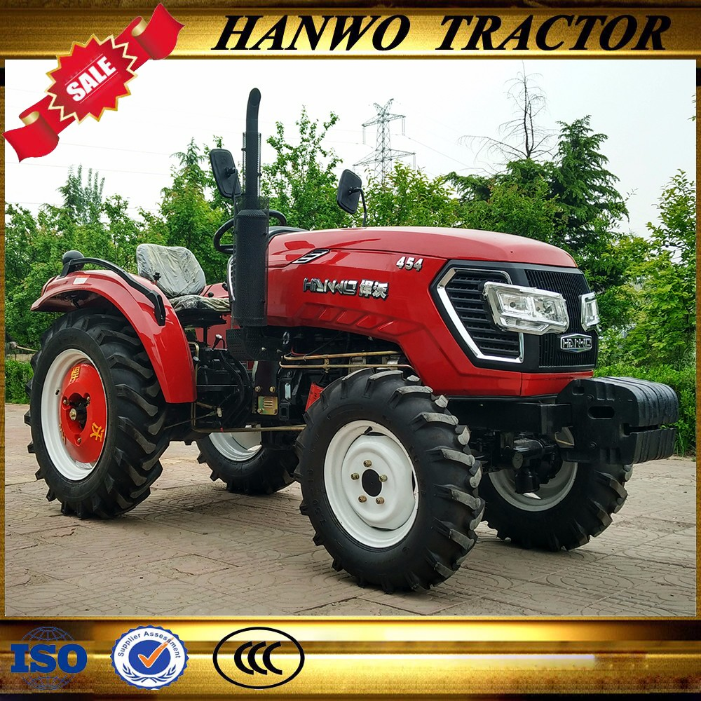 agro machinery made in china 45HP 4WD medium farm tractor and mini tractor price