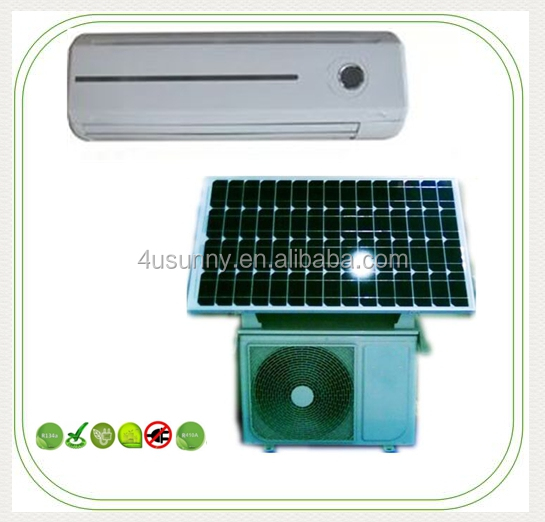 Low Price and High Efficiency On-grid Split Solar Air Conditioners Air Conditioning A/C with CE