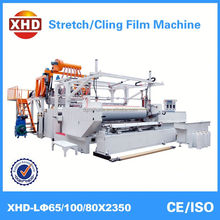 pe plastic stretch making film extruder machine