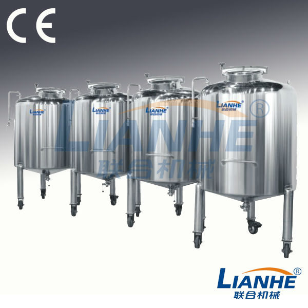 Stainless steel materials pharmaceutical storage tanks, collagen storage tank price, collagen storing vessel