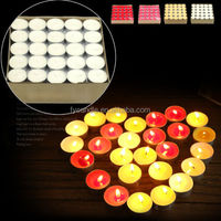 wholesale cheap machine making wax unscented tealight candle supplier