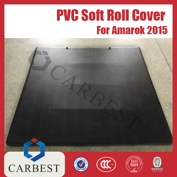 High Quality Soft PVC Pickup Tri-fold Bed Cover For Amarok New
