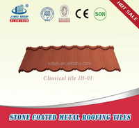 high quality new design color Stone Coated Metal Roof Tile /constructional material in Ethiopia