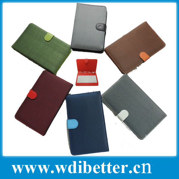 Folio Folding Case Cover For 7 inch Tablet PC MID USB Keyboard Cover