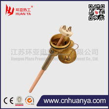 S B R type Pt-rh thermocouple temperature sensors