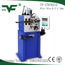 Top grade YF-8212 automatic computer CNC spring coiling machine