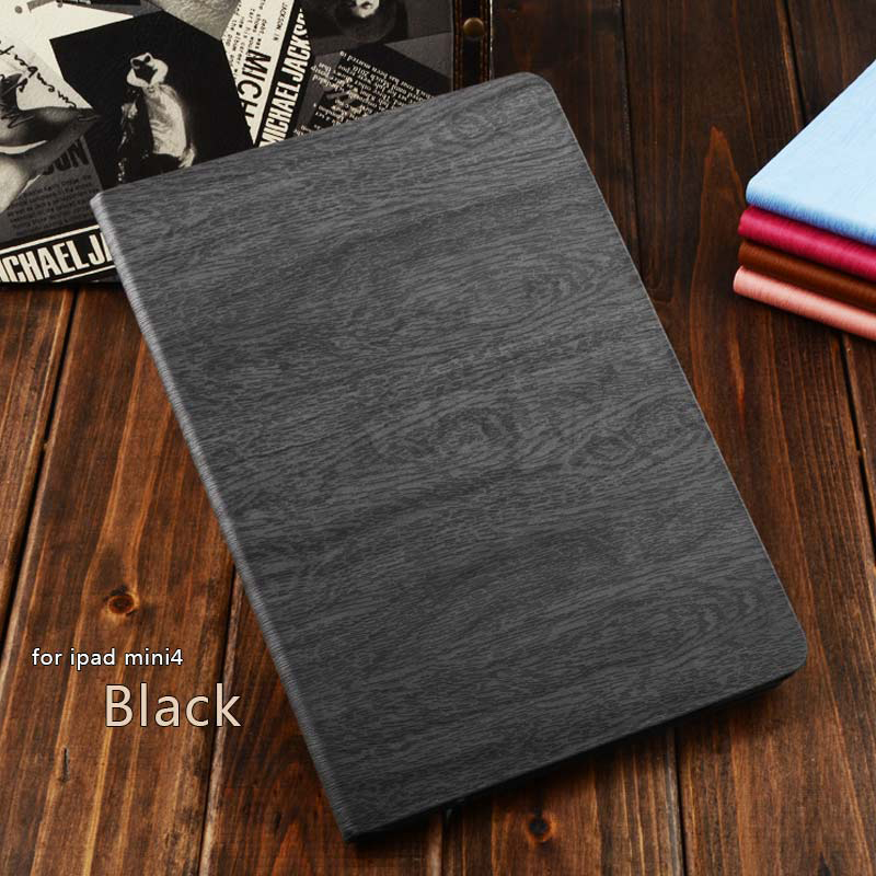 2017 Notebook Belt Style tree texture Durable Shockproof Kids Friendly cover case for Apple Ipad mini 4