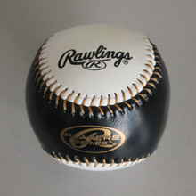 PVC leather cover with rubber sponge core training baseball