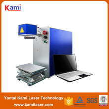 Auto-Position System Fiber laser micro sd memory card marking machine Syngood100*100MM 10W/ 20W /30W