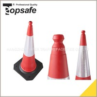 Professional Manufacture Cheap 53*53 Base Flashing Traffic Cone Light