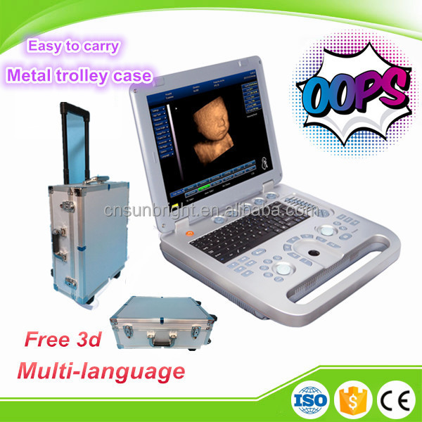 Widely used 3D Full Digital Portable Ultrasound Scanner