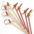 Barbeque Knotted bamboo fruit sticks/skewer/picks for sale
