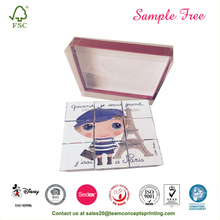 Promotional Paper Playing Puzzle Cube