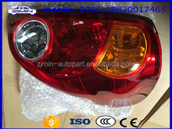 ZIMin Car Tail Lamp Tail light for Mitsubishi pickup L200 2005 TAIL LAMP 8330A009 8330A010