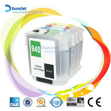 Wholesale 940 xl refillable cartridge for HP deskjet pro8000 8500 with ARC chip