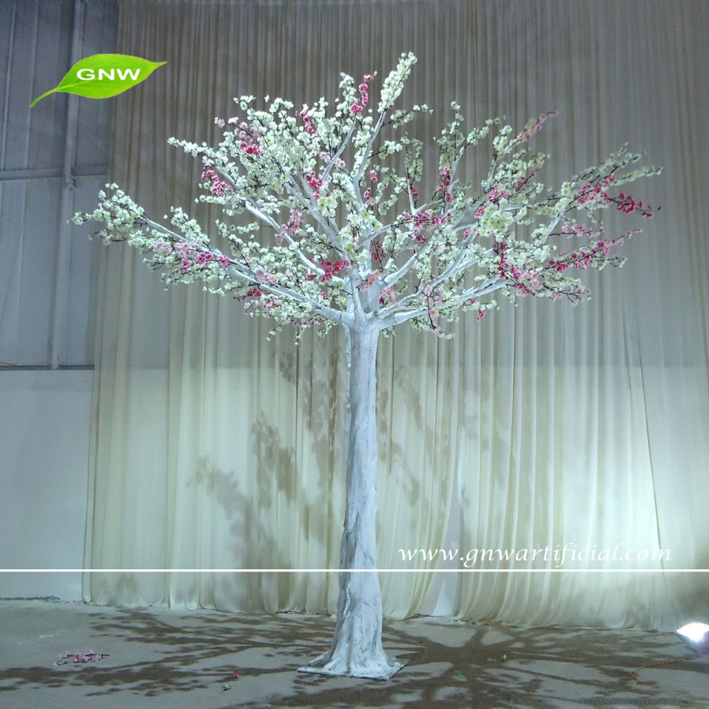 GNW 9ft BLS1604001 white cheap artificial landscaping dried manzanita trees with wedding cherry flower