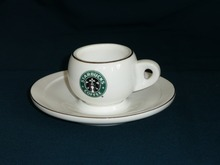 starbucks porcelain ceramic mugs cup sets with sancer