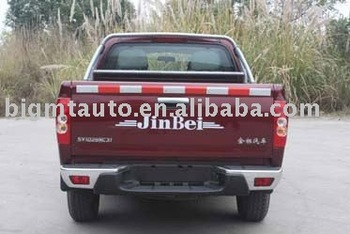 JINBEI Rear Wheel Drive Single/ Double Cabin gasoline pickup truck
