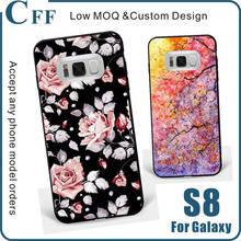2017 New design cell phone case for Samsung Galaxy S8 S8 Plus Protective Case Back Cover
