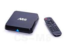 Hot Amlogic S802 Quad core android 4.4 tv box M8 support bluetooth 4.4, 4K*2K, XBMC, 2G+8G smart android 4.4 M8