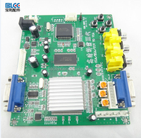 China hot sell cga to vga game video signal converter board for arcade game machine with best price from Guangzhou suppliers