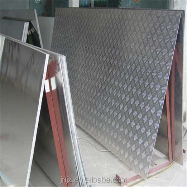 Decorative pattern 3003 embossed aluminum metal sheet