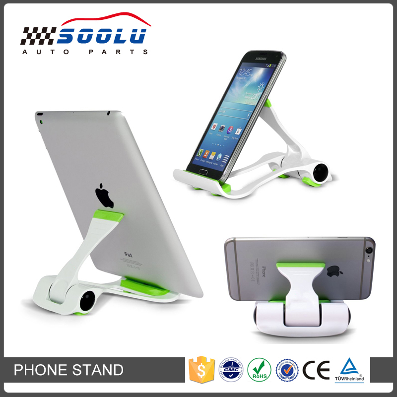 Multi-Angle Adjustable Portable Foldable Universal Lazy Cell Phone Holder For Desk