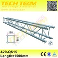 220mm Used Aluminum Truss Price,Length 1500mm Decorative Truss