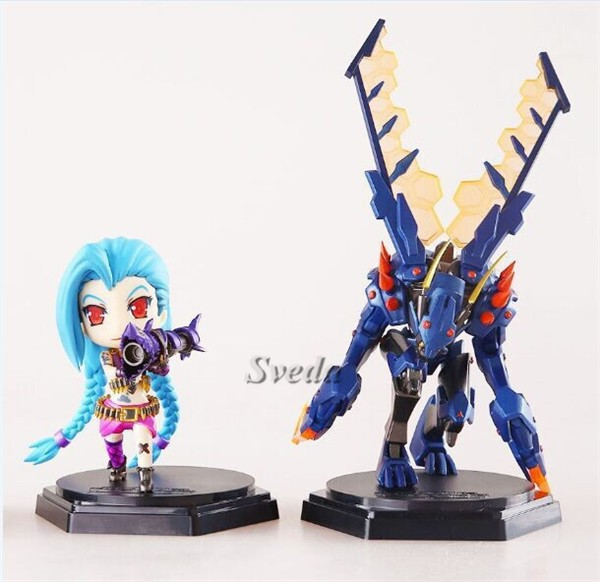 (Hot Games) Sveda League of Legends figures, LOL Game toys PVC figure doll with different designs